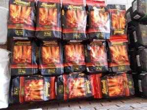 Shonnah briquettes